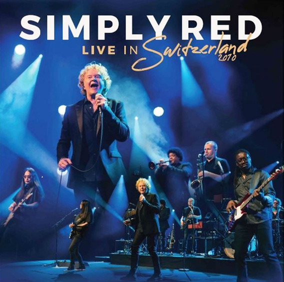 Vinilo Simply Red Live In Switzerland 2010 Lp