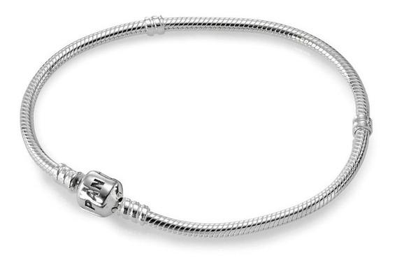 Promoção!! Bracelete De Prata De Lei Pandora (original)