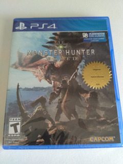 Monster Hunter World Ps4 Nuevo Fisico Sellado