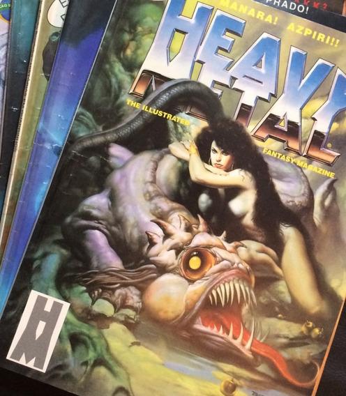 Revista Heavy Metal Brasileira, Ano 2, C/6 Edições + Brinde