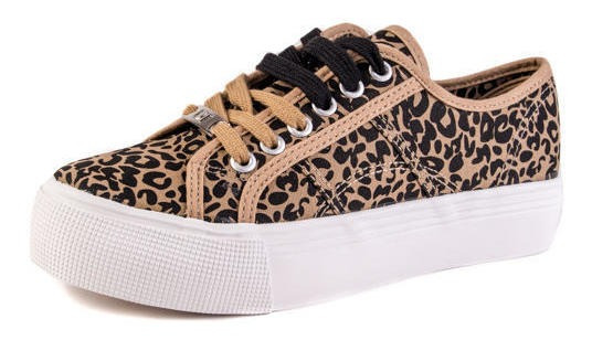 Zapatilla Belen Leopardo