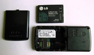 L 158 - Celular Lg Mg 160 A (para Sucata)