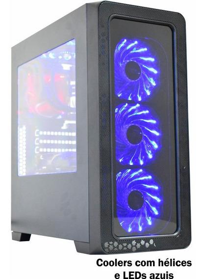 Computador Pc Gamer I5 8gb Hd 500 Placa De Vídeo Rx 550
