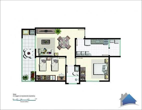 Apartamento Para Venda Em Areal, Centro, 2 Dormitórios, 1 Banheiro, 1 Vaga - Ap-1002_2-34056