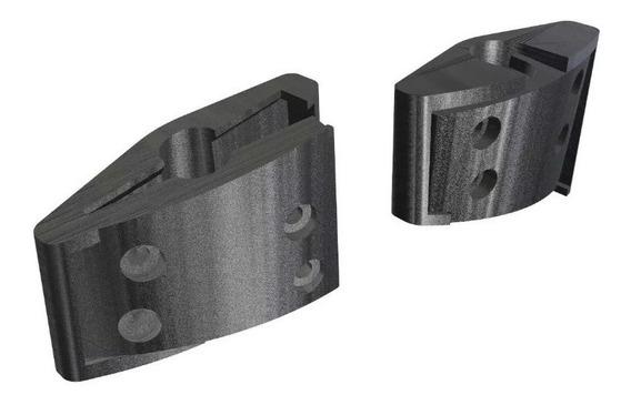 Kit Reposição Par Dobradiça Headset Logitech G430 G930 F540