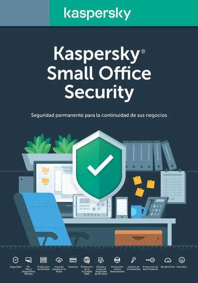 Licencia Kaspersky Small Office 50 Pcs 5 Server 2 Años