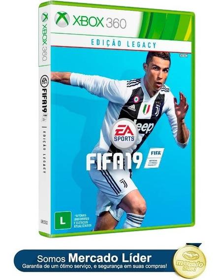 Fifa 19 Xbox 360 Original Em Português