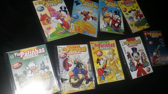 Coleção Completa Tio Patinhas Extra - 1/9 - Banca