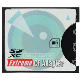 Adaptador Sd Sdhc Sc Para Extreme-flash Cf