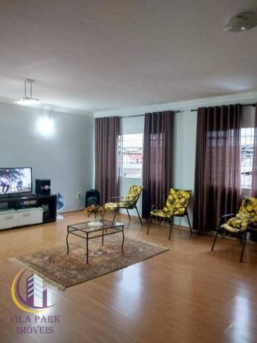 Sobrado Com 3 Dormitórios À Venda, 150 M² Por R$ 490.000,00 - Santo Antônio - Osasco/sp - So0664
