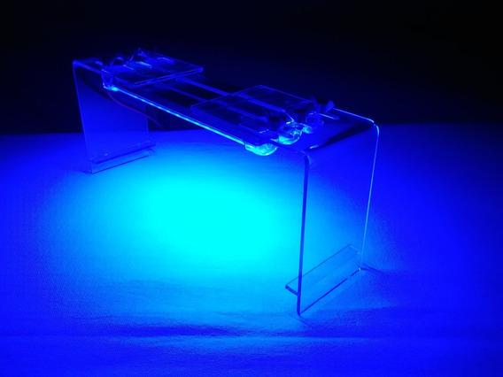 Luminária Led 63w Azul Branco 10000k Marinho 1m/1,20m Dimmer