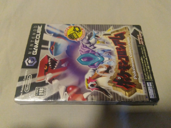 Pokemon Colosseum - Nintendo Game Cube - Jogo Original Jap