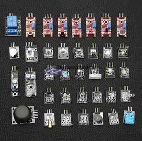 Kit Com 37 Sensores / Módulos Sensores Para Arduino