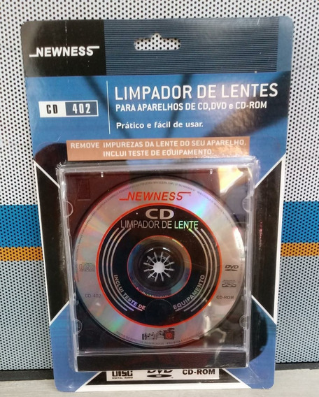 Cd Limpador De Lentes Newness