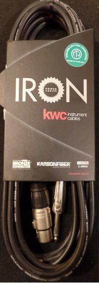 Cable Kwc Iron 231 Canon Plug Mono 6 Metros Neutrik Xlr Pro