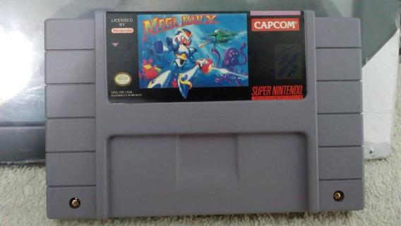 Mega Man X - Snes - Original Americano