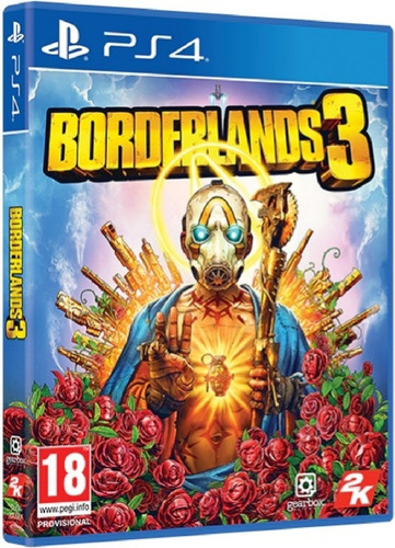 Borderlands 3 Ps4 Mídia Física Novo Lacrado Original