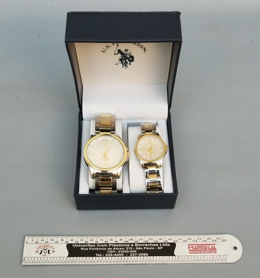 02 Relógios U.s. Polo Assn. ¿ Masc. E Fem. ¿ Sem Uso.