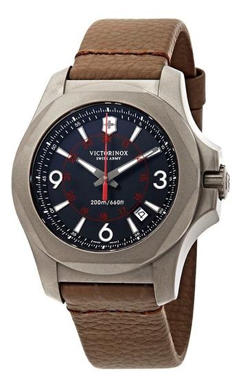 Relógio Victorinox Inox Titânio Semi-novo Sem Uso Com Nf