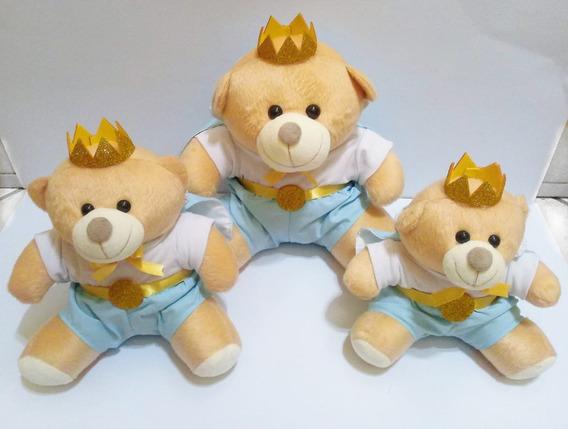 Trio De Ursinhos Nicho Principe