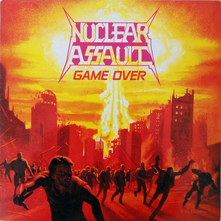 Cd Nuclear Assault Game Over & The Plague Reissue