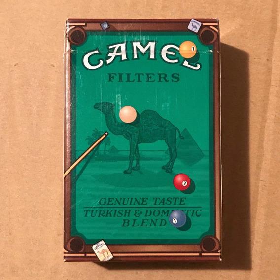 Marquilla De Cigarrillo Camel Pool Billard
