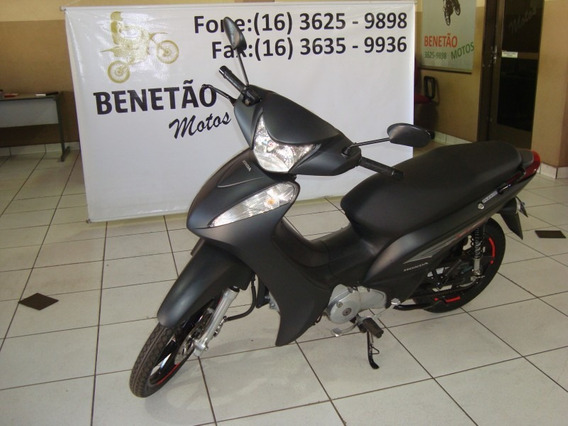 Honda Biz 125 Ex Preto 2015
