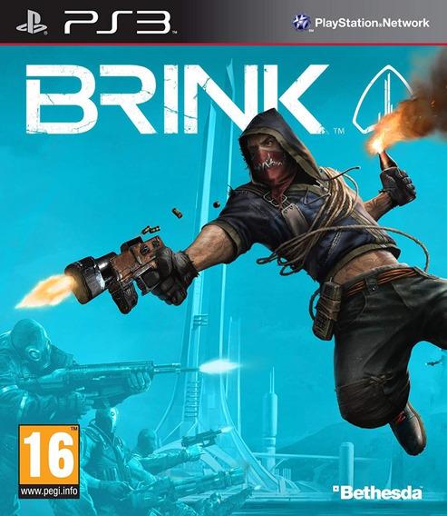 Jogo De Playstation 3 Brink Ps3 Usado