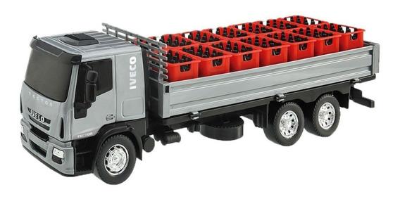 Brinquedo Menino Caminhão De Bebidas Com Acessórios Usual