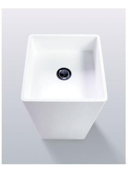 Lavabo Cube De Pedestal Minimalista Kand