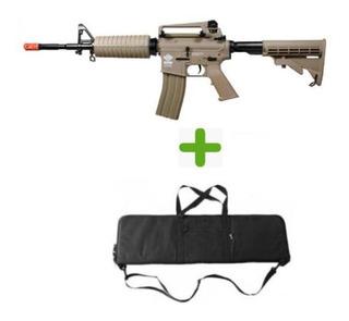 Airsoft Rifle Cm16 Carbine Dst - G&g + Bag Para Transporte