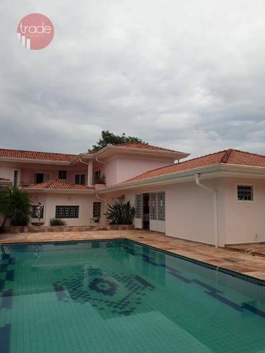 Imagem 1 de 30 de Casa Com 5 Dormitórios À Venda, 900 M² Por R$ 4.800.000,00 - Jardim Canadá - Ribeirão Preto/sp - Ca3230