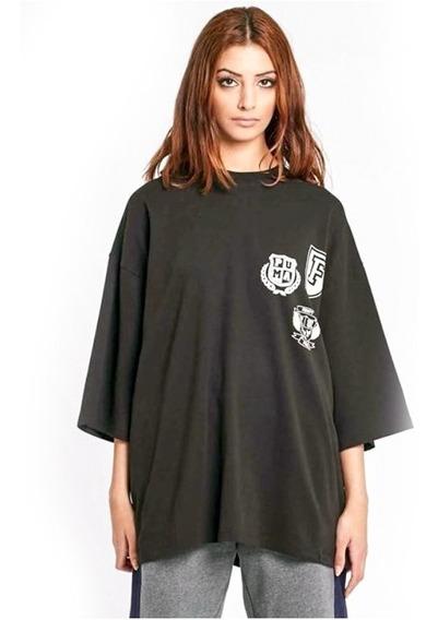 Blusa Grife Feminina Camisa Fenty By Rihanna - University.
