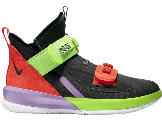 Lebron Soldier 13 Xiii Thunder Grey Sneakershark
