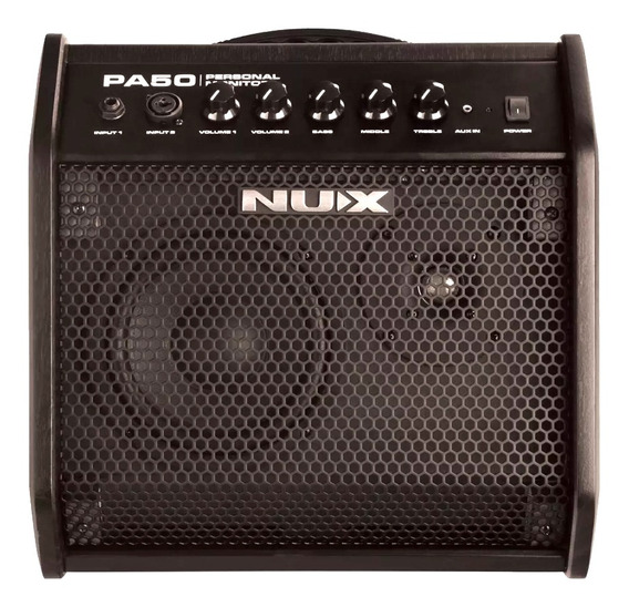 Amplificador Multiple Nux Pa50 Monitor Personal 50 Watts