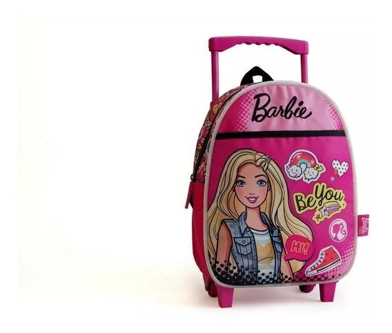 Mochila Con Carro Barbie Original 33644ec