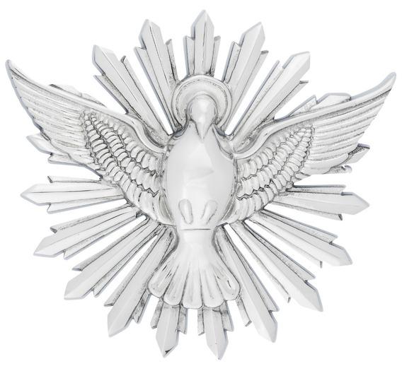 Divino Espírito Santo Em Alumínio Polido
