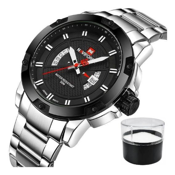 Relógio Naviforce 9085 Original Masculino De Luxo Promoção