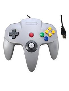 Wired Controller Tercera Partido Clásico De N64 Retro Bit Us