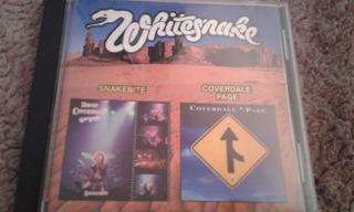 Whitesnake Snakebite + Coverdale- Page Cd