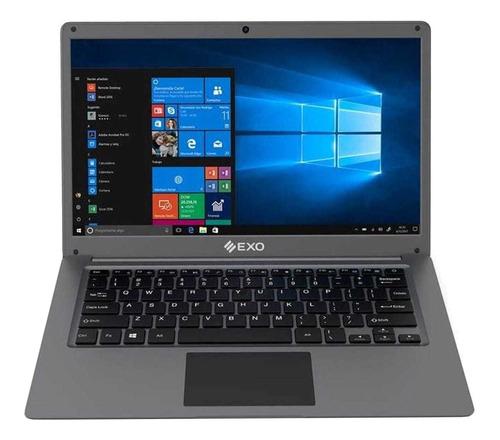 "Notebook Exo Smart C19 gris 14"", Intel Celeron N3350  4GB de RAM 64GB SSD, Intel HD Graphics 1366x768px Windows 10 Home"