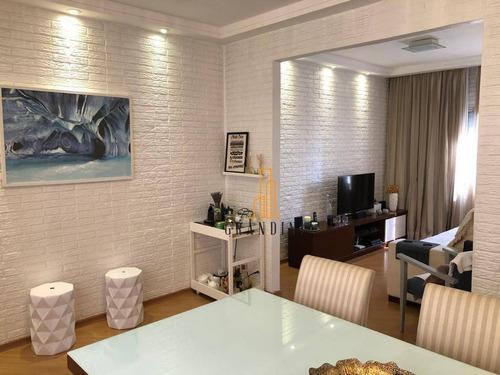 Apartamento Com 3 Dormitórios À Venda, 64 M² Por R$ 281.000,00 - Vila Baeta Neves - São Bernardo Do Campo/sp - Ap2177