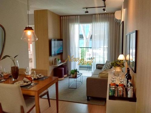 Lançamento 55 M² - 2 Dormitórios C/ Suíte E 1 Vaga - Ap5317