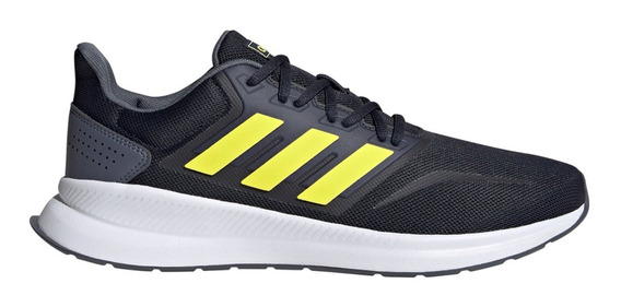 Zapatillas Hombre adidas Runfalcon Azul/amarillo/blanco