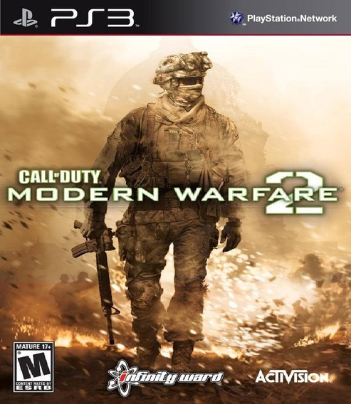 Call Of Duty Modern Warfare 2 Ps3 Usado Frete Tbm Via Cr