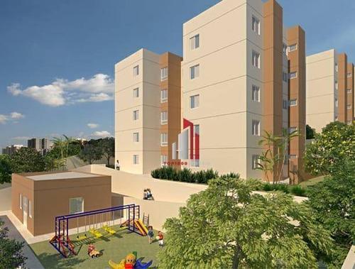 Apartamento Com 2 Dormitórios À Venda, 52 M² Por R$ 265.000,70 - Vila Nova Parada - São Paulo/sp - Ap0858