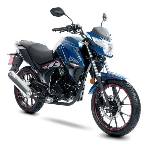 Imagen 1 de 6 de Moto Carabela R6s 200cc Azul Modelo