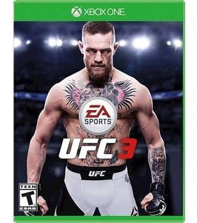 Ufc 3 Xbox One Nuevo