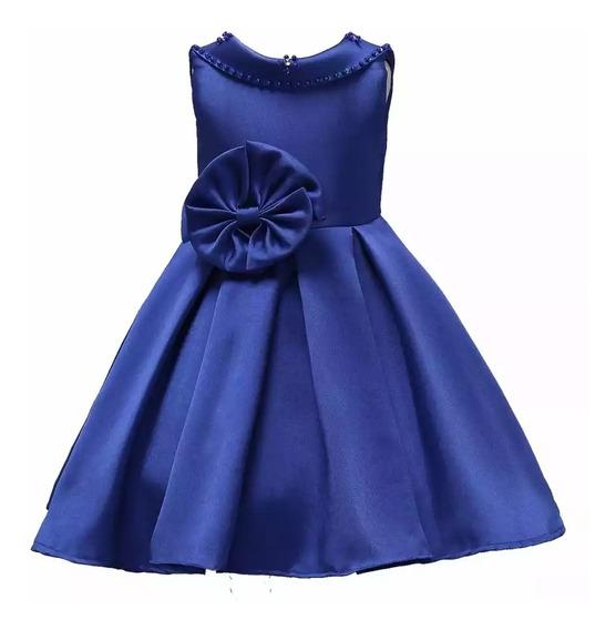 Vestidos Fiesta Rosa, Vino O Azul Fiesta Para Niña