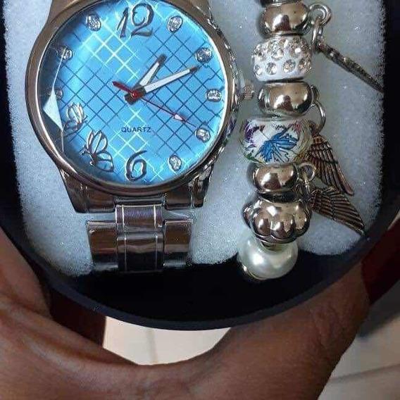 Kit Com 5 Relógios Femininos Atacado